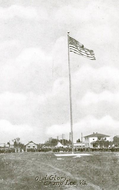 Old Glory, Camp Lee, Va.