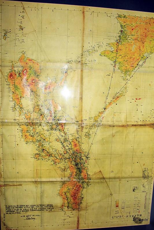Plan de vuelo japones de Filipinas, 1945
