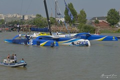 Le trimaran géant Macif à Nantes :copyright: Bernard Grua