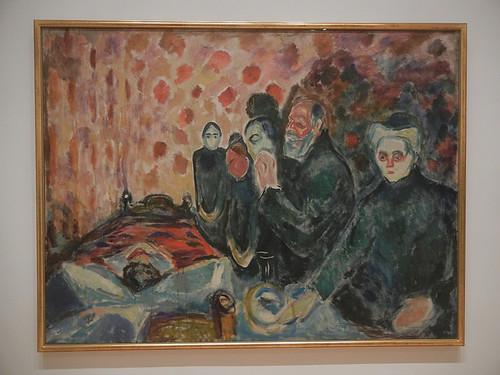 DSCN9162 _ Death Struggle, 1915, Edvard Munch, SFMOMA