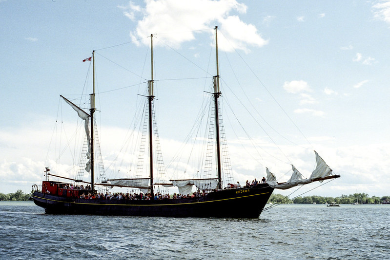 Tall ship Cruise Coming In_