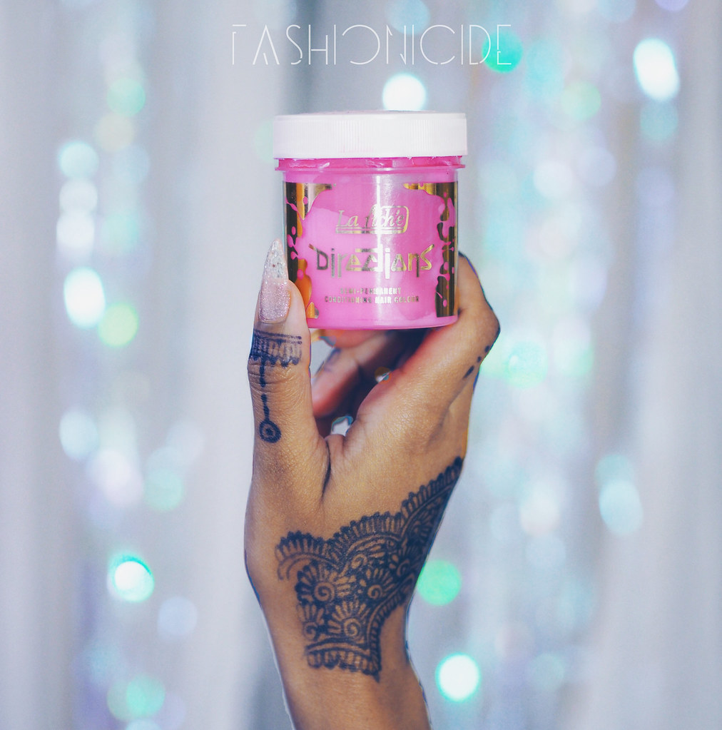 Directions Carnation Pastel Pink Hair dye