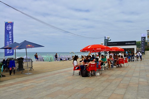 Hoy a la tarde en la playa de Zarautz 24-6-2017