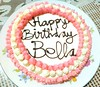1st random pics...Homemade birthday cake...Happy birthday Bella!