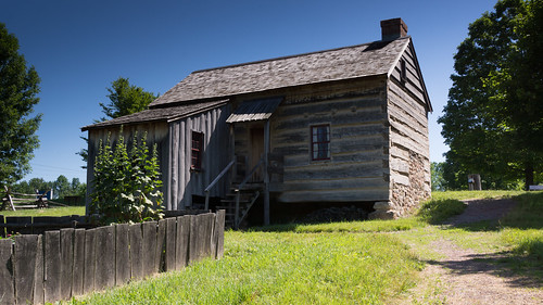 Back of the Joseph Smith family farm