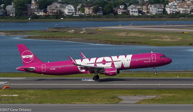 WOW Air ehf, TF-DAD, 2014 Airbus A321-211(WL), MSN 6232, Óðinn