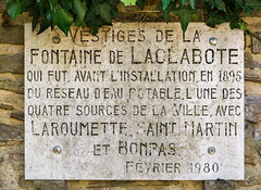 Photo of Stone plaque number 43407