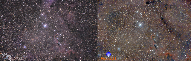Comparativa de procesado Startools Vs PixInsight