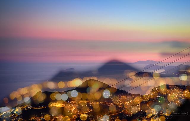 Lights of Dubrovnik at, Fujifilm X-T1, XF35mmF1.4 R