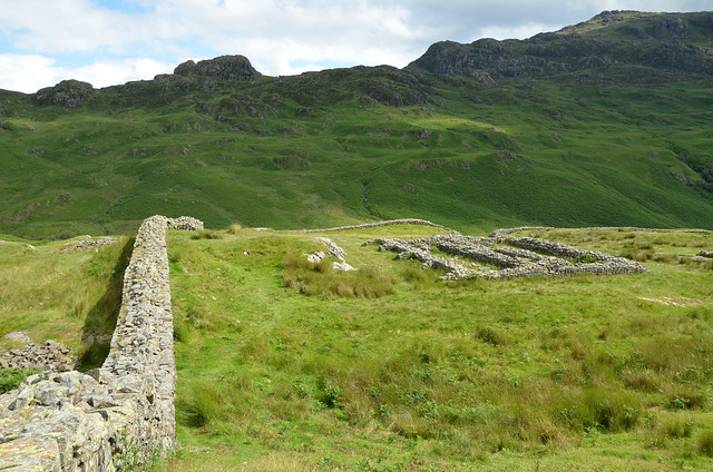 Hardknott Roman Fort (Mediobogdum), Lake District, UK
