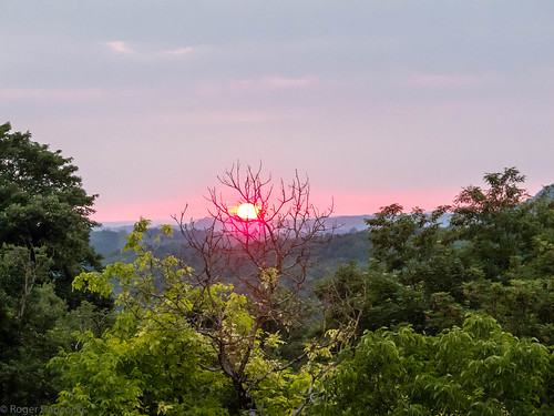 Sunset at Tournon d'Agenais