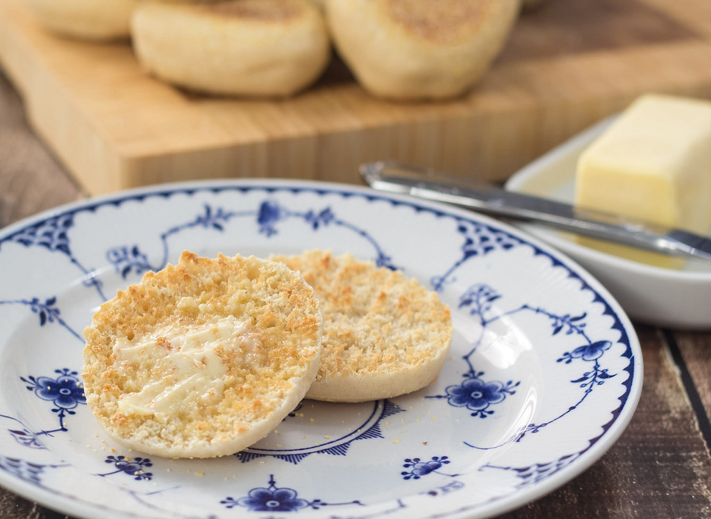 Recipe for Homemade English Muffins