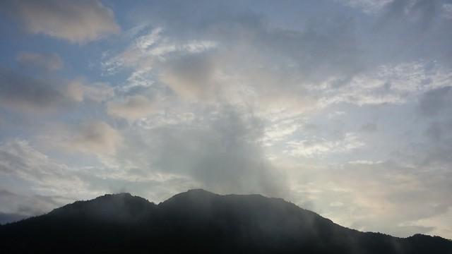 아침풍경 | 승무산 뭉게구름