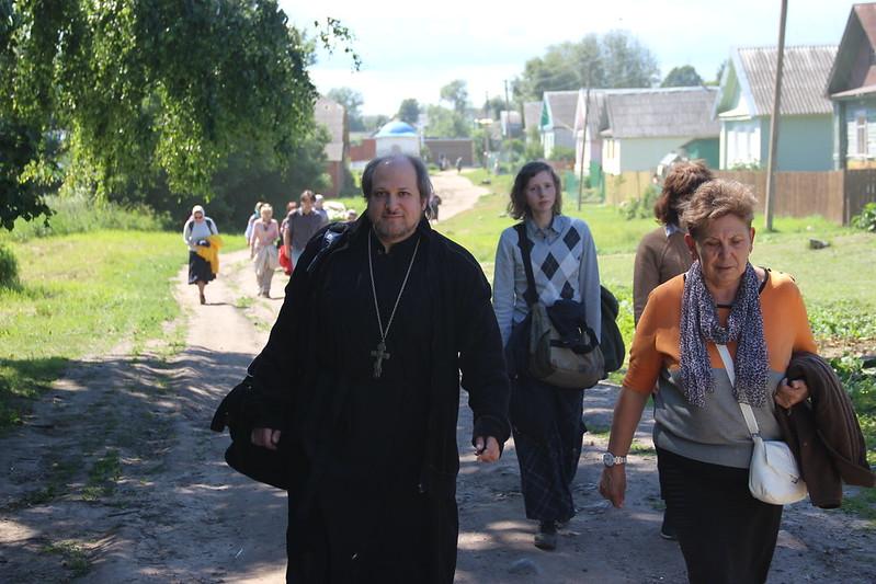 Паломничество на Талабские острова, к отцу Николаю Гурьянову