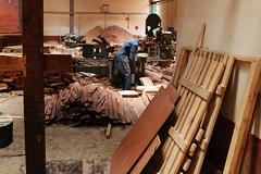 Sawmill operator working at KEFRI