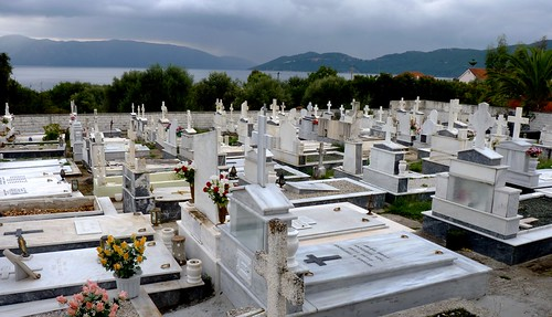 greece kefallinia kefalonia cephalonia cemetery