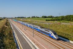 14 juin 2017 TGV D 251-770 Train 804515 St-Pierre-des-Corps -> Bordeaux Aubie-St-Antoine (33) - Photo of Marcenais