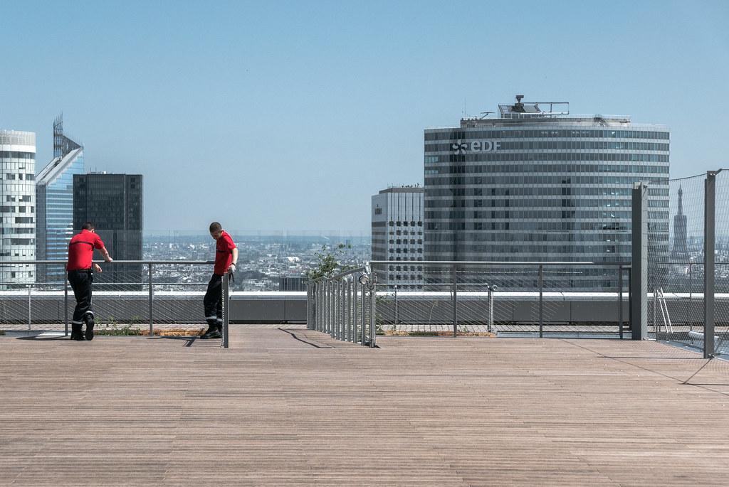 rooftop grande arche 3 - la défense - juin 2017