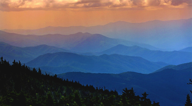 In Explore... The Great Smoky Mountains from Clingmans Dome