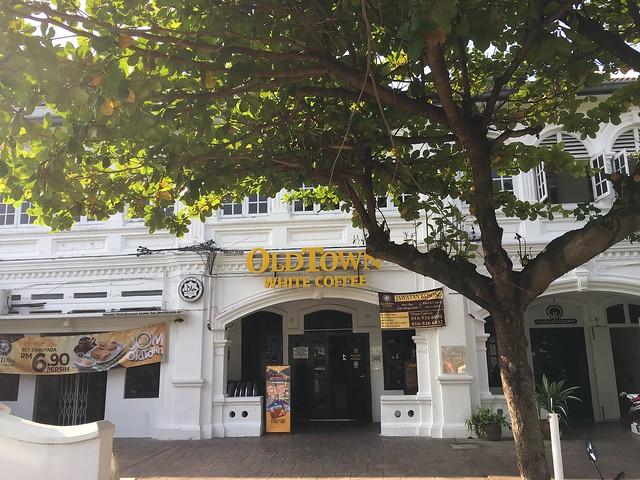 オールドタウンホワイトコーヒーのイポー店