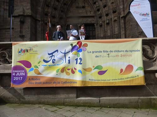 2017 06 04 Festi 12 , Fëte de fin de Synode, Cathédrale de Rodez (70)