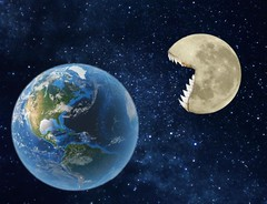 What if the moon got hungry