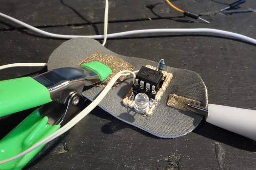 ATtiny cap to sound circuit