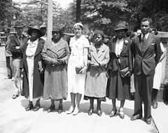 Scottsboro mothers seek White House audience: 1934