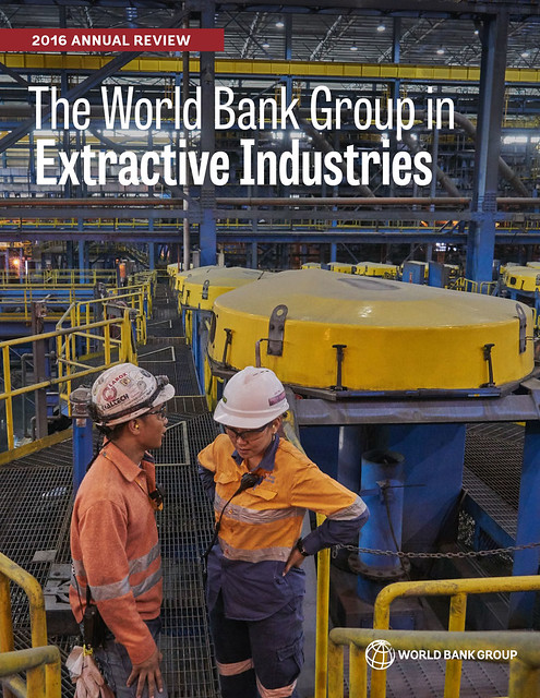 WBG Extractive Annual Review 2016 cover