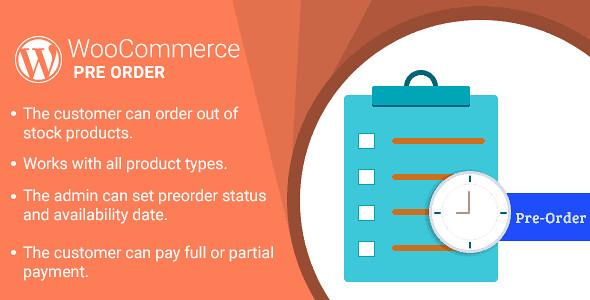 WooCommerce Pre Order WordPress Plugin free download
