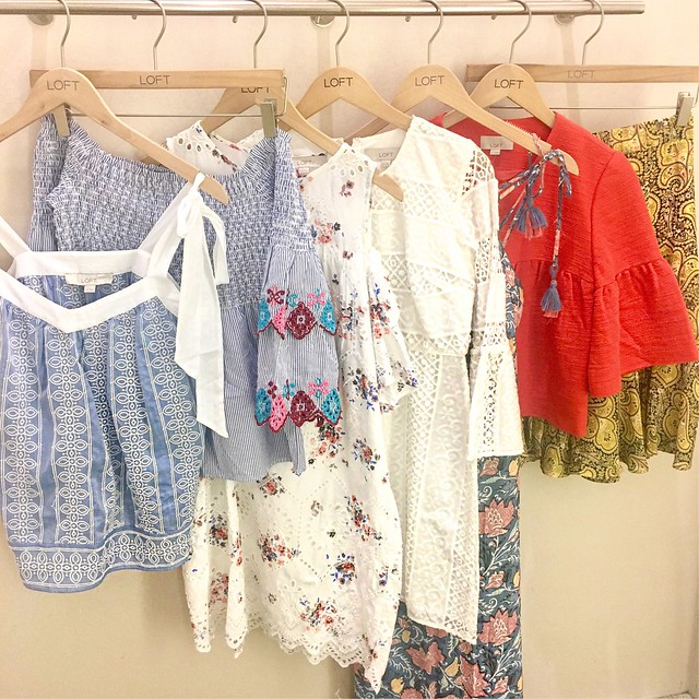 LOFT Summer 2017 Fitting Room Reviews on www.whatjesswore.com