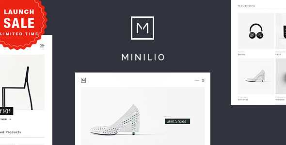Minilio WordPress Theme free download