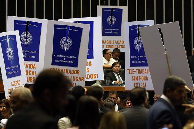 Acordo entre base e oposição impediu que votação acontecesse já nesta quarta (5) - Créditos: Agência Brasil