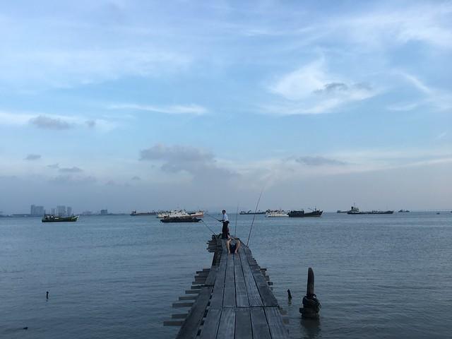 桟橋村の隣にはこんな桟橋もある