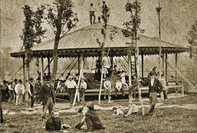 Whirligig in Shützen Park, Philadelphia Sep. 1873