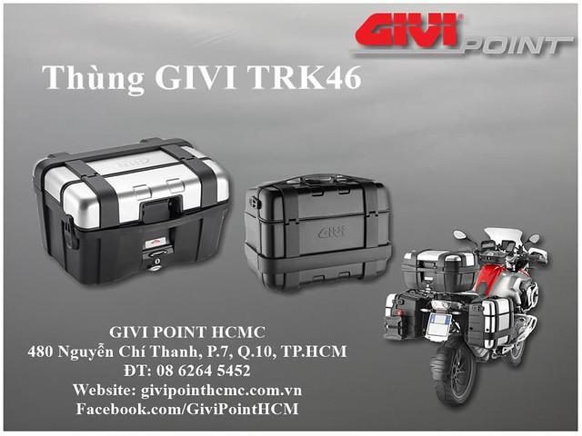 Thung xe Givi - 33