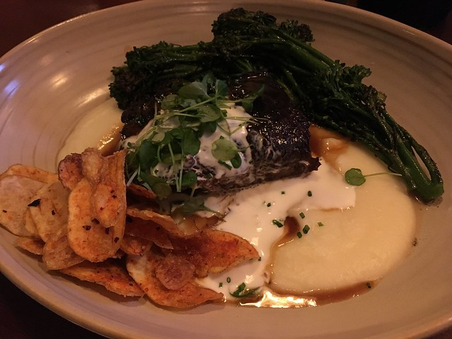 Brined and braised short rib - Finn Town