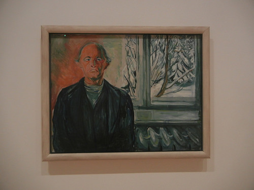 DSCN9061 _ Self-Portrait by the Window, ca. 1940, Edvard Munch, SFMOMA