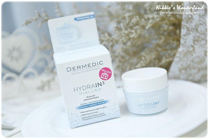 DERMEDIC 玻尿酸超水感長效保濕凝霜