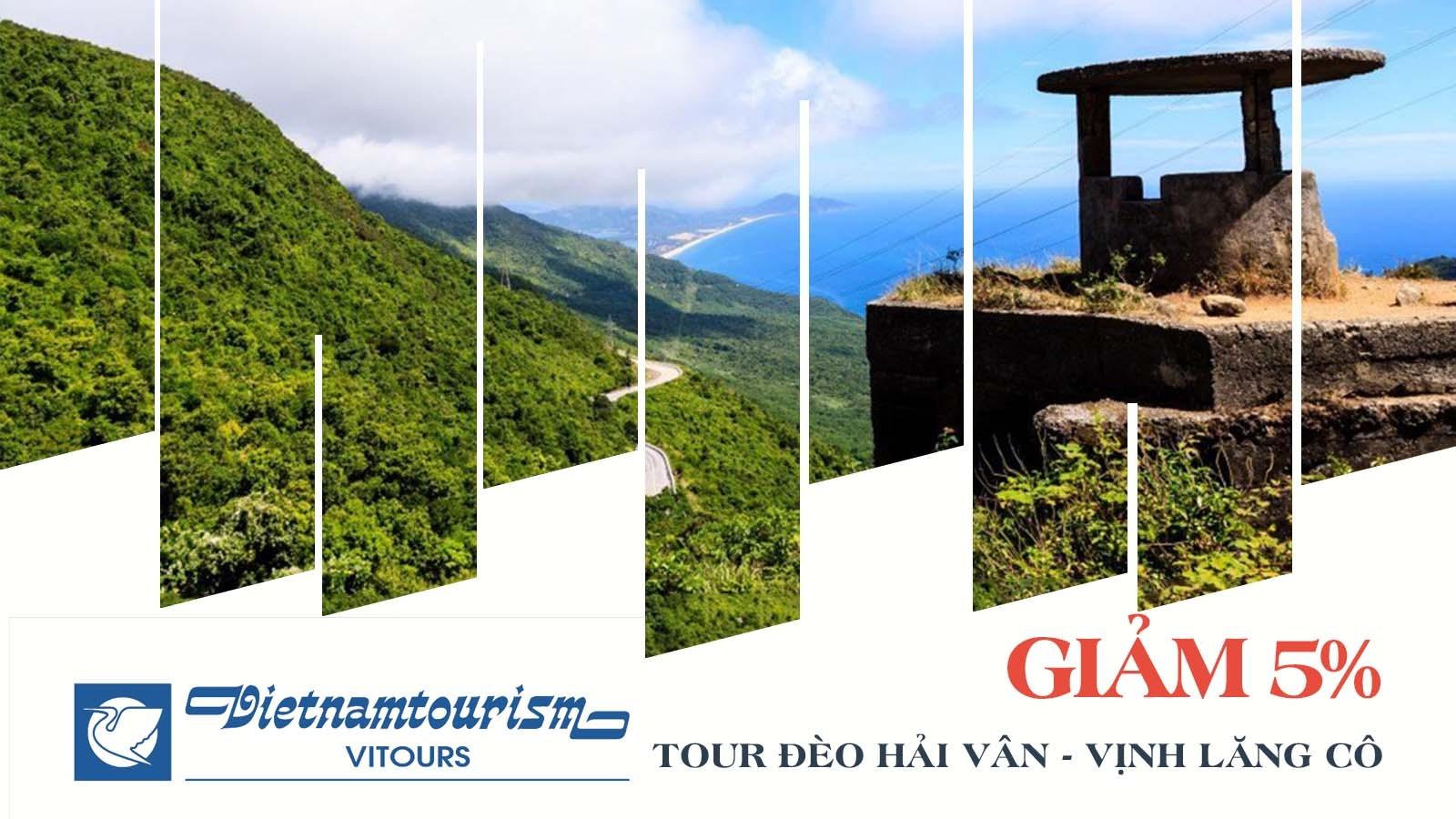 Vitours giảm 5% tour đèo Hải Vân - Vịnh Lăng Cô 1
