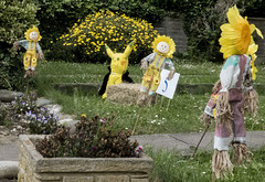 Yellow Mini Scarecrows