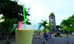 Spicy Avocado Shake only in Cagwasa Ruins  #Cagwasa #shake #silishake #foodporn #foodlovers #dessert #Albay #bicol #Philippines #photography #hobby