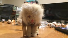 1950s wind-up toy lion