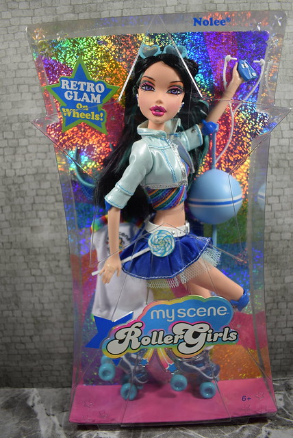 2006 Barbie My Scene RollerGirls Nolee K8252 (2)