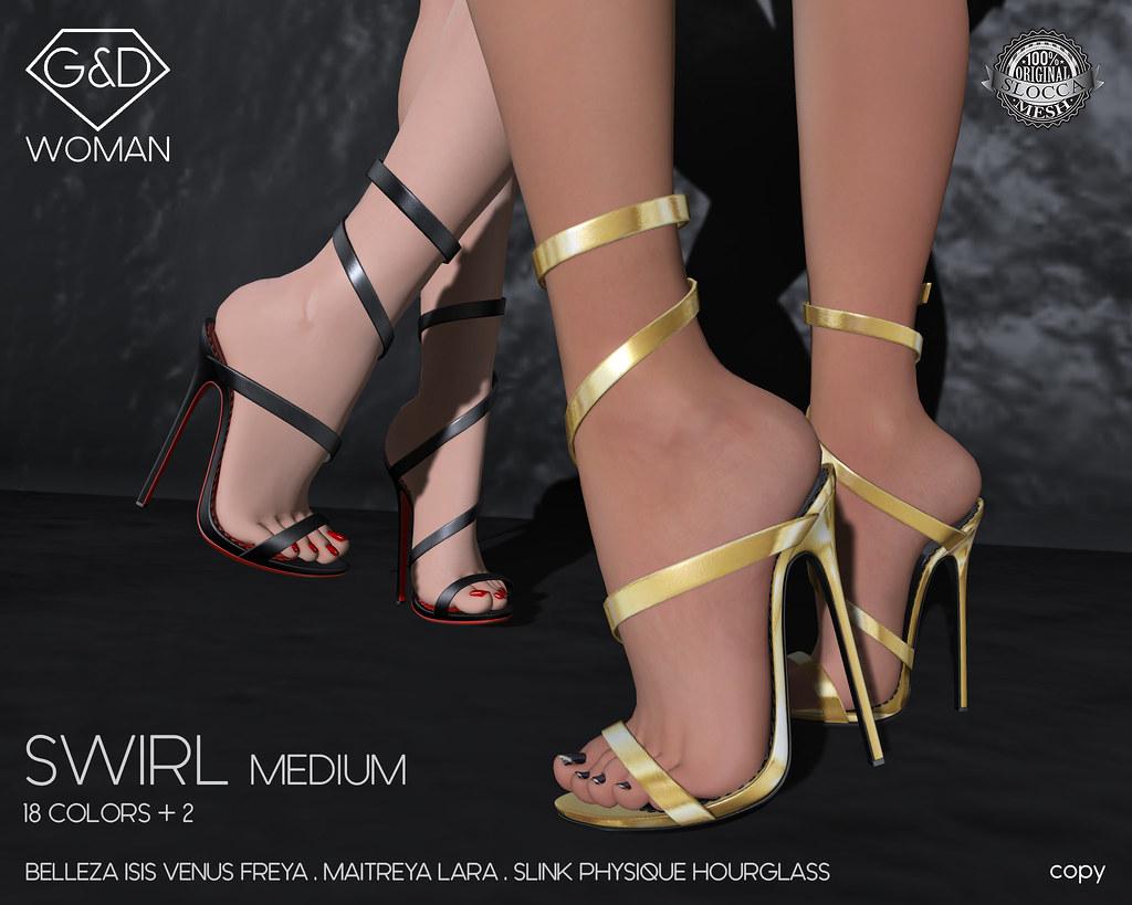 G&D sandals Swirl Medium adv - SecondLifeHub.com