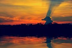 Strange Cloud Formation