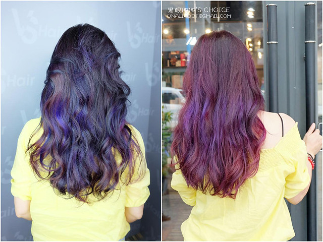 VS Hair染護髮棚拍vs門口背面
