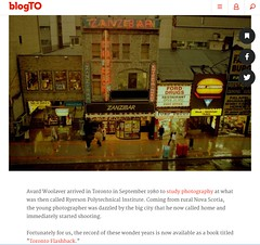 I'm happy to be featured in blogTO