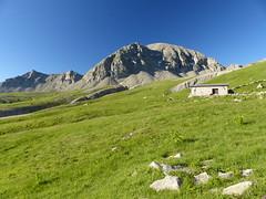Le Grand Coyer et la cabane du Carton - Photo of Villeneuve-d'Entraunes