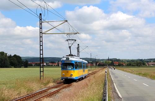 tram strasenbahn thüringerwaldbahn germany gotha düwag